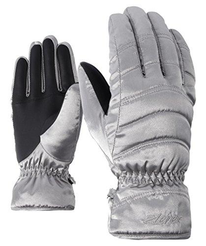 Ziener Kamira Handschuh, Damen , silber (Metallic