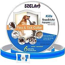 Collar de pulgas y garrapatas para perros, gatos, 6 meses de protección, resistente