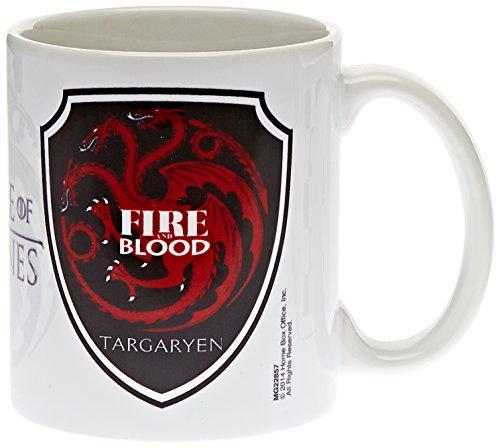 Game Of Thrones Pyramid International–Taza de café/té (315ml), diseñ (Targaryen)