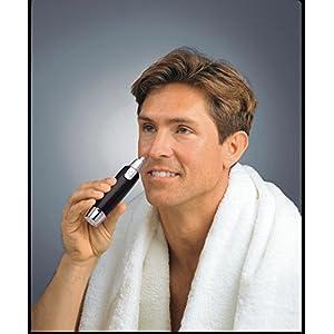 EB Brands UK Nose & Ear Trimmer, Black, 12x2x13 cm