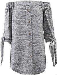 Generic - Top à manches longues - Chemise - Manches Longues - Femme Taille Unique
