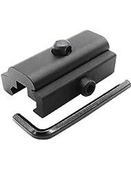 Coween Chasse tactique QD Sling pivotant à tige adaptateur Weaver/Picatinny Rail Harris Style Fusil Bipied Plat militaire Fusil Outil
