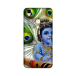 Yashas High Quality Designer Printed Case & Cover for Vivo V3 (Bal Gopal)