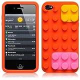 OnlineBestDigital - 3D Brique Coque en Silicone / Housse pour Apple iPhone 4S / Apple...
