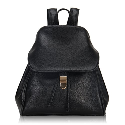 Imagen de veevan  bolso de escuela de las mujeres del bolso de la muchacha de piel sintética negro
