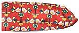 Wollhuhn ÖKO Süßes elastisches TWIST Haarband/Stirnband, gedreht, Vögelchen rot (aus Öko-Stoffen, bio) für Mädchen/Damen, 20170711