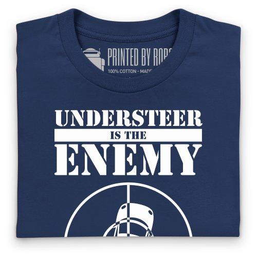 evo Understeer is the Enemy T-Shirt, Herren Dunkelblau