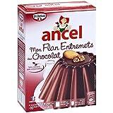 Ancel flan entremets chocolat 4 sachets 232g Envoi Rapide Et Soignée ( Prix Par Unité )