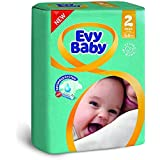 Evy Baby Mini Diaper Twin Pack (60 Count)
