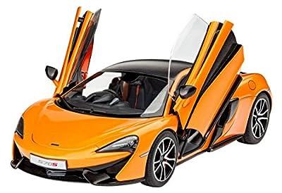 Revell Modellbausatz Auto 1:24 - McLaren 570S im Maßstab 1:24, Level 3, originalgetreue Nachbildung mit vielen Details, 07051 von Revell