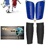 Sunshine smile Kinder Schienbeinschoner Fußball mit Stutzen Socken - inkl....