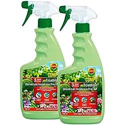 COMPO Triathlon® Universal Insekten-frei AF 1,5 l Vorteilspack (2× 750 ml)