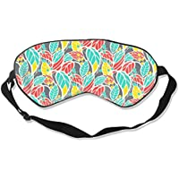 Eyes Mask Fashion Leaves Printed Shade Sleep Goggles for Sleep Contoured Eye Masks for Sleeping,Shift Work,Naps preisvergleich bei billige-tabletten.eu