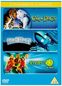 Cats And Dogs Scooby Doo The Iron Giant Dvd Amazon Co
