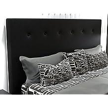 LA WEB DEL COLCHON Cabecero de Cama tapizado Acolchado Macedonia (Cama 150) 160 x