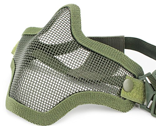 Coxeer, Coxeer Masque Visage airsoft Paintball Masque protection Masque de ski  lunette de protection 612ba15c0afa