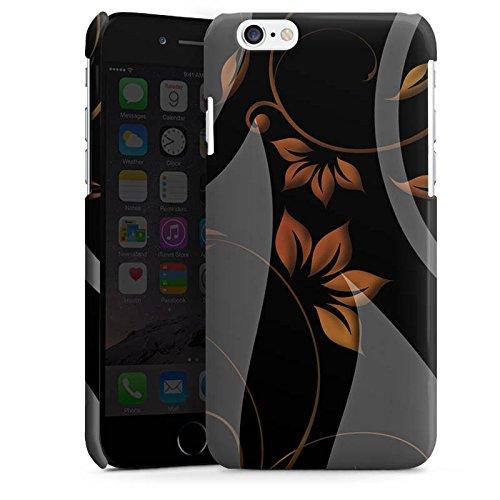 Apple iPhone 5s Housse étui coque protection Ornements Fleurs Fleurs Cas Premium brillant