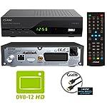 """COMAG SL30T2 FullHD HEVC DVBT/T2 Receiver (H.265, HDTV, HDMI, SCART, Mediaplayer, PVR Ready, USB 2.0, Testurteil: Stiftung Warentest 02/2017: """"gut"""" (Note 2,2)) inkl. HDMI-Kabel, schwarz"""