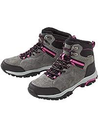e95ef2e4a90991 Crivit® Damen Leder-Trekkingschuhe  Wanderschuhe (ORIGINAL ROBUST Stabile  Fersen- und Zehenkappen für zusätzlichen Halt und Schutz …
