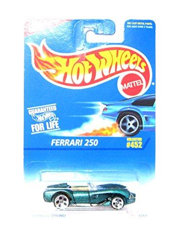 Hot Wheels Ferrari 250 #452 5 Dot Wheels 1:64 Scale by Hot Wheels
