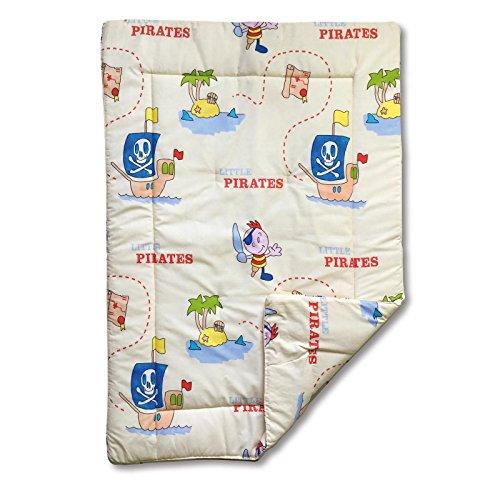 Krabbeldecke Spieldecke ca.135x100cm Piraten
