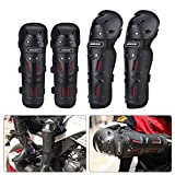 #2: AllExtreme (BSDDP) 4 Set, Bike Knee Pads and Elbow Pads with Wrist Guards Protective Gear Set for Biking, Riding, Cycling and Multi Sports Safety Protection: Scooter, Skateboard, Bicycle, inline skatings