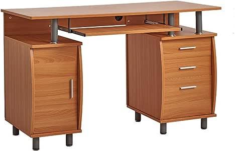 Panana Bureau Informatique Table de l'ordinateur avec 3
