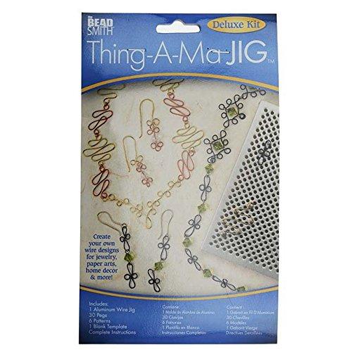 Thing-A-Ma JIG Formplatte xtl-6066Deluxe Metall Schmuck Draht Wrap Werkzeug (Wrap Jig)