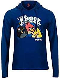Angry Birds Sweat à capuche pour homme sweat à capuche à capuche pour homme, Bleu–Tailles S à XL
