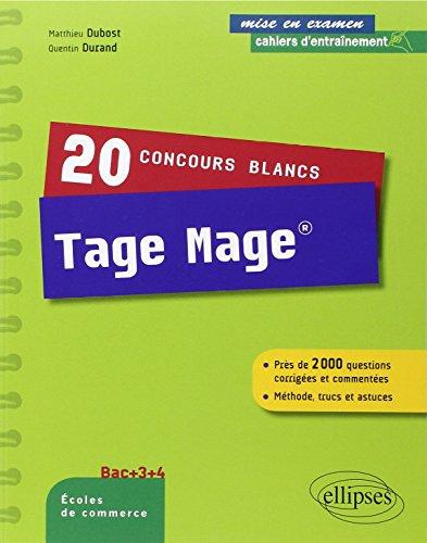 20 Concours Blancs Tage Mage® Près de ...