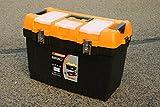 22' JUMBO Werkzeugkoffer Leer Werkzeugkasten Werkzeugkiste Werkzeug Box Kunststoff Kiste - B/L/H - 31CM/57CM/27CM