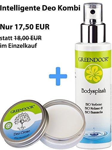Greendoor Body Splash, Deospray 100ml, Deo ohne Aluminium aus der Naturkosmetik Manufaktur - 6