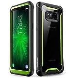 i-Blason Cover per Samsung Galaxy S8, Custodia Trasparente [Serie Ares] Angoli Rinforzati per Samsung Galaxy S8 2017, Senza Pellicola Protettiva, Verde