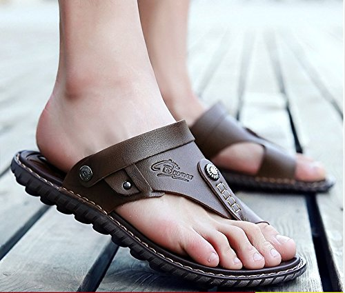 Xing Lin pour homme Sandales Tongs pour homme et Sandales pour hommes Sandales pour kaki