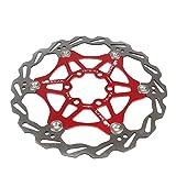 Lixada Ciclismo Bicicletta Disco Galleggiante Disco Rotore MTB Mountain Bike 6 Viti Disco freno Rotore 160MM/180MM
