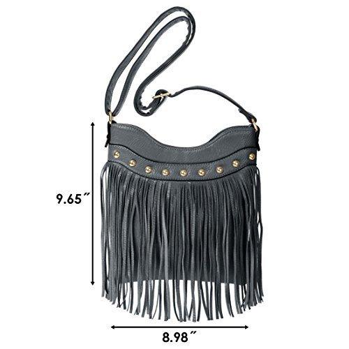 bmc-mujer-piel-sinttica-borla-acento-fino-moda-bolso-de-mano-sinttico-gris-pizarra-mujer-small