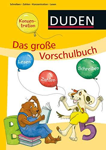 Das große Vorschulbuch (DUDEN Kinderwissen Vorschule) (Buchstaben Vorschule)