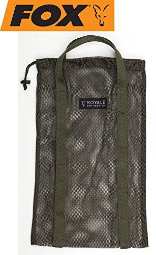 Fox Royale Medium Air Dry Bag Boiliesack für 3kg Boilies, Sack zum Trocknen & zur Aufbewahrung von Karpfenködern, Ködertasche, Boilietasche, Angeltasche zum Karpfenangeln (Fur Fox Bag)