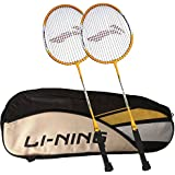 [Sponsored]Li-Ning ABDK122 Smash XP 710 Combo (Li-Ning ABDK122 Badminton Kitbag + Li-Ning 710 Badminton Racquet, Set Of 2) - Black Bag
