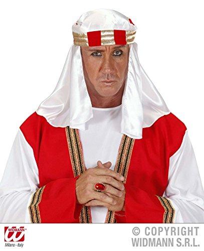 KOPFBEDECKUNG - ARABER - 59 cm, Wüsten Orient Scheich Sultan 1001 Nacht Harem (Kostüme Arabische Erwachsene Nacht)