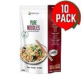 Konjac Pates Sans Gluten Noodles 10 Pack * 200g | Vegan Low Carb Shirataki De Konjac...
