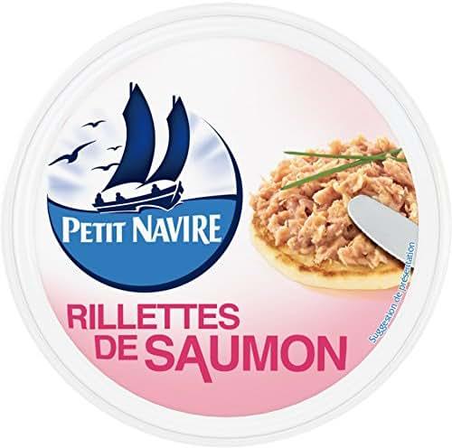 Petit Navire rillettes de saumon 125g - ( Prix Unitaire ) - Envoi Rapide Et Soignée