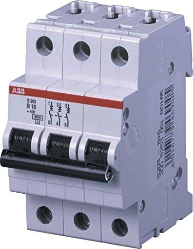 ABB-ENTRELEC S200M-K - INTERRUPTOR MAGNETOTERMICO S203M-K 20A TRIPOLAR 3 MODULOS