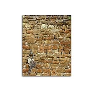 Porte-clés avec design pierre naturelle éclatante clés mural, étagère murale avec crochets pour clés SB030