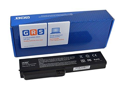 Batería de GRS para portátil Fujitsu-Siemens Amilo Si1520, Pro V3205, Pro 564E1GB, sustituye a: UR18650F-2-QC-12, 916C4850F, SQU-522, S26391-F400-L400, 60.4P311.001, SQU-518, MS2193, 916C5450f, batería de 4400 mAh, 11,1 V