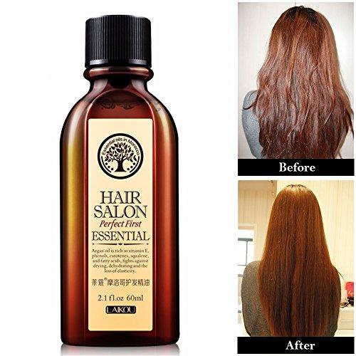 Cosprof Maroc réparation de l'huile de traitement pour les cheveux et le cuir chevelu, cheveux abîmés, 60 ml