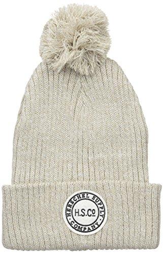 herschel-supply-co-sepp-bobble-cappello-colore-nero-heather-oatmeal-taglia-unica-us-taglia