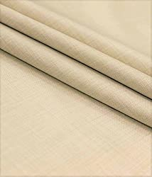 Vimal Mens Polyblend 1.25m Cream Trouser Fabric