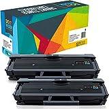 Do it Wiser 2-Pack Compatible Toner Cartridges for Samsung MLT-D111S/ELS Xpress SL-M2070W SL-M2022W SL-M2020W SL-M2026W SL-M2070FW SL-M2078W SL-M2020 SL-M2022 SL-M2026 SL-M2070