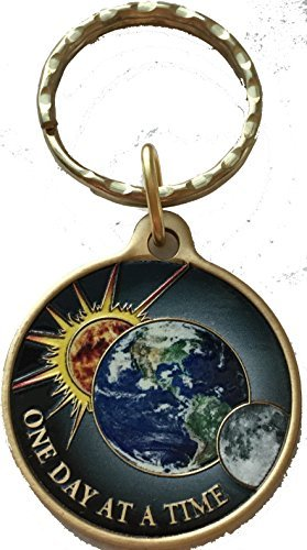 one-day-at-a-time-universe-keychain-sun-moon-earth-medallion-color-serenity-prayer-chip-by-recoveryc